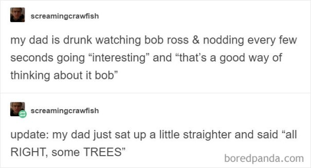 5be3fb3e0a530-tumbrl-postas-5be2e5a8a24ce__700 25+ Bob Ross Memes That Show He Truly Was The Best Art Random