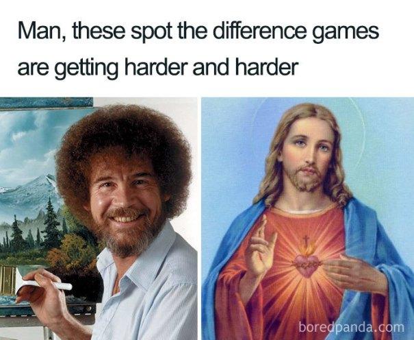 5be3fb416fbd4-meme_2_lines_700-5be2b3f345693__700 25+ Bob Ross Memes That Show He Truly Was The Best Art Random