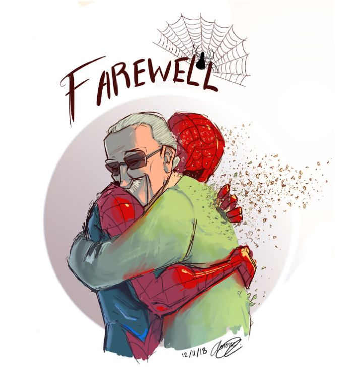 Stan Lee and Spidey