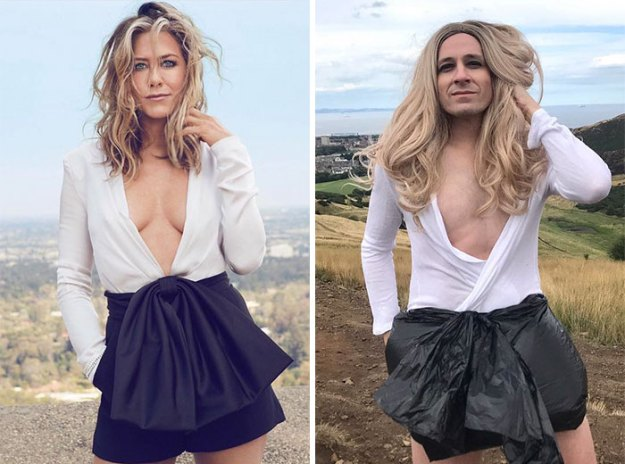 """5bfe61d7384be-5-5b8591a1b3603__700 Former """"Buffy"""" Star Recreated 30 Celebrity Outfits And It's Hilarious Random"""