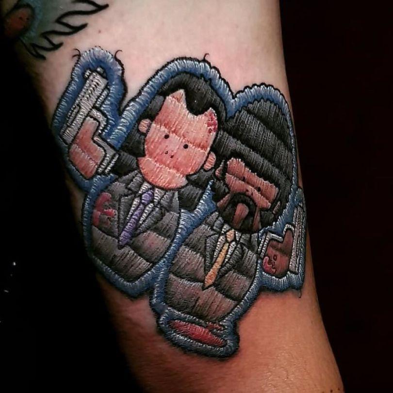 """5cab03047ca71 Bv0PMa2Hda6 png  700 - 30 tatuagens em estilo """"bordado"""" são lindas e intrigantes"""