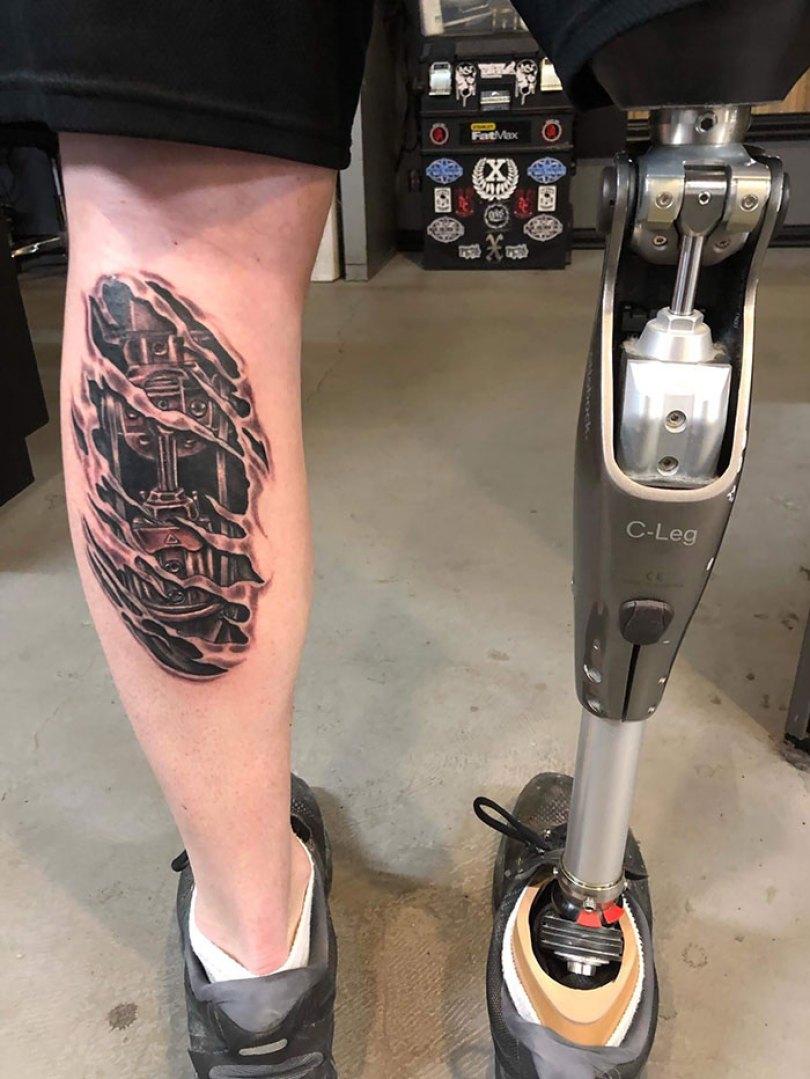 5caef3b811032 3d tattoo ideas 1 5ca1d57f1c642  700 - 56  Tatuagens em 3D que irão bagunçar sua mente