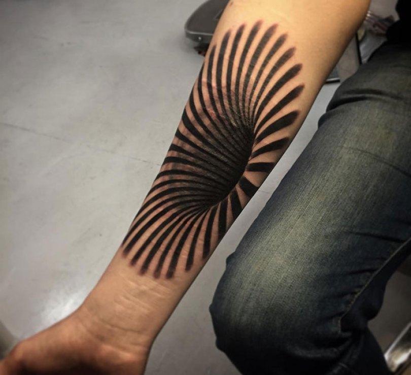 5caef3b9317f2 3d tattoo ideas 15 5ca1d764369d5  700 - 56  Tatuagens em 3D que irão bagunçar sua mente
