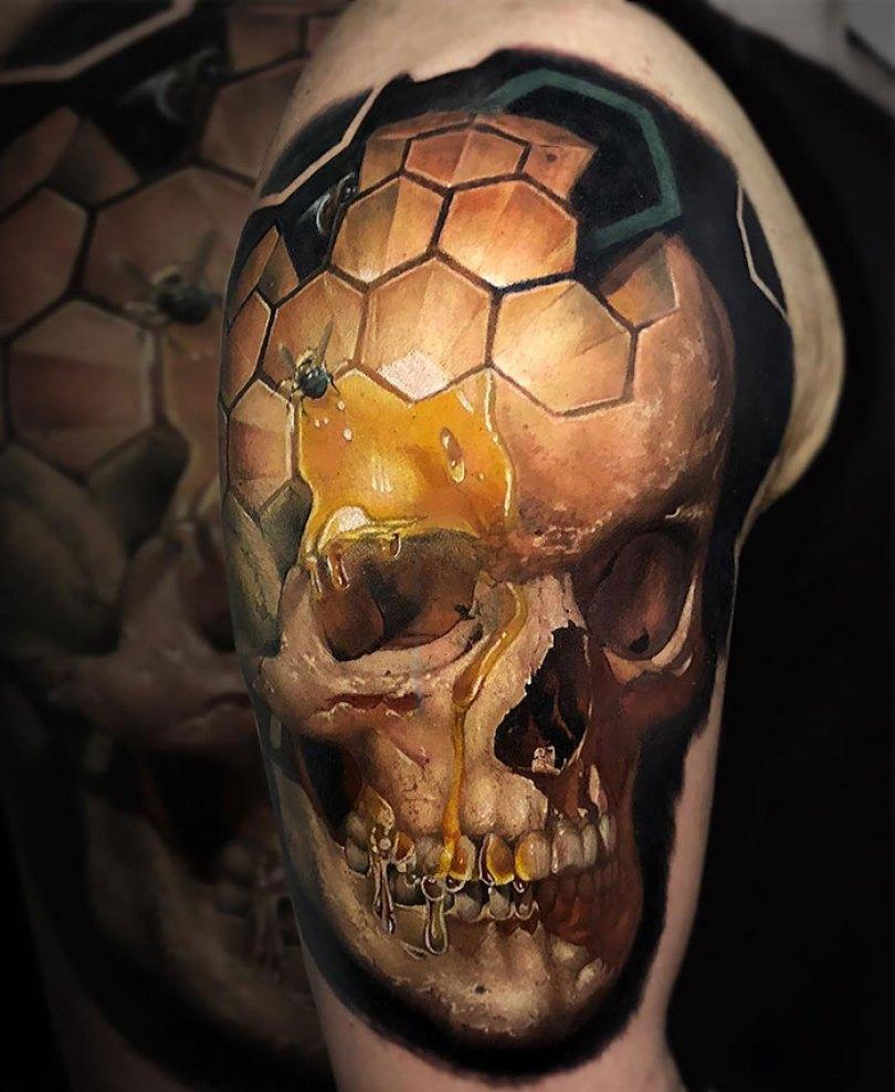 5caef3b971ab9 3d tattoo ideas 24 5ca1d8986caae  700 - 56  Tatuagens em 3D que irão bagunçar sua mente