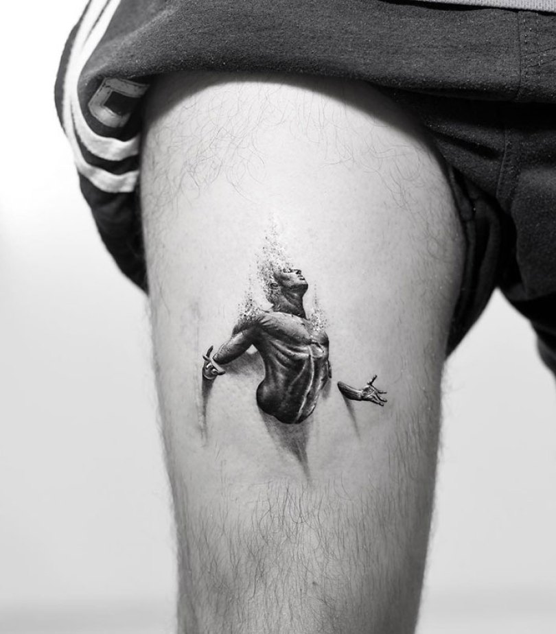 5caef3b9c8eee 3d tattoo ideas 36 5ca1dc6376fb4  700 - 56  Tatuagens em 3D que irão bagunçar sua mente