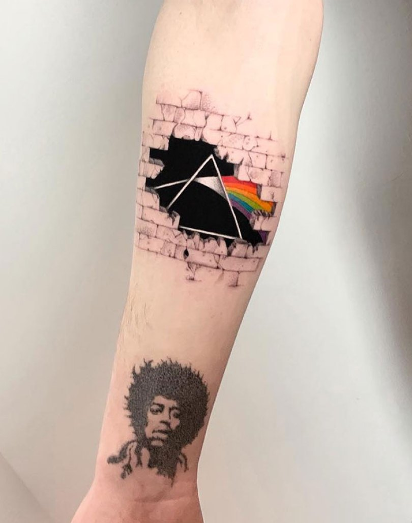 5caef3ba2f67b 3d tattoo ideas 55 5ca1dea84cb2c  700 - 56  Tatuagens em 3D que irão bagunçar sua mente