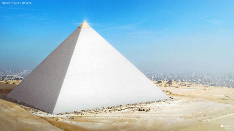5ccff20dd1292 02 Seven Wonders Giza 5cc7a0dc6cc99  880 - 7 Imagens Impressionantes das Maravilhas do Mundo Antigo em seu auge