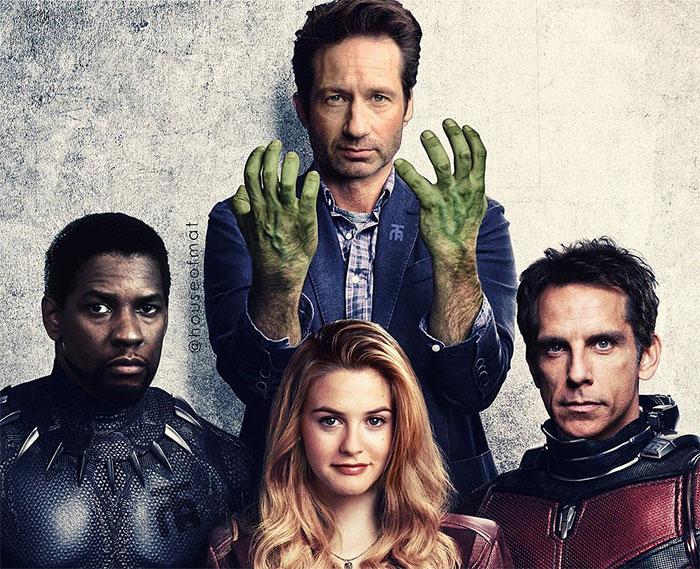 5cd28db1703c7 marvel avengers movie actors 90s houseofmat 2 5cd1507d0ad6a  700 - Este artista tentou imaginar como seria o elenco dos Vingadores nos anos 90