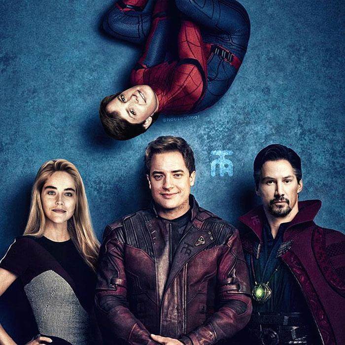 5cd28db374560 marvel avengers movie actors 90s houseofmat 5 5cd15088f097f  700 - Este artista tentou imaginar como seria o elenco dos Vingadores nos anos 90