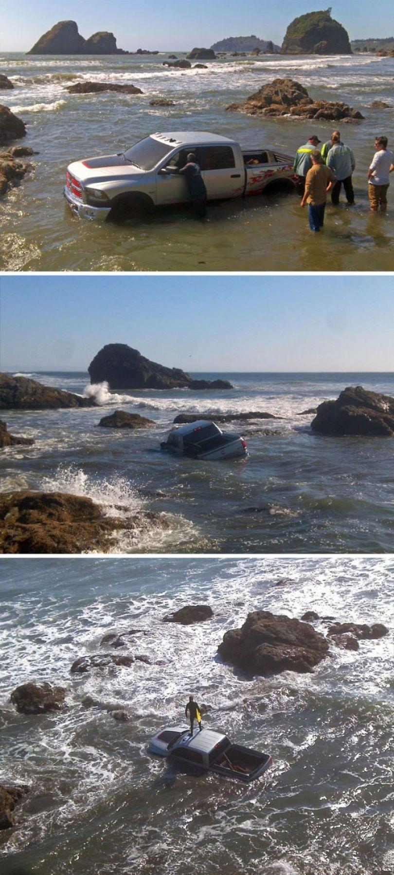 5cfa47142eb74 interesting funny beach 43 5b6d34bfbe89e  700 - Coisas interessantes que as pessoas encontraram na praia