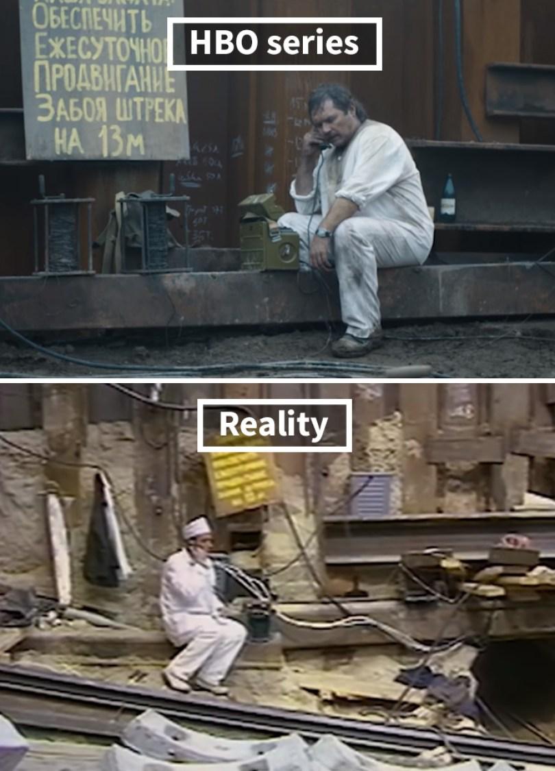 5d073e2c68cf6 side by side comparison hbo chernobyl with actual footage 14 5d024446d3c66  700 - Fotos de Chernobyl da HBO em comparação a fotos reais