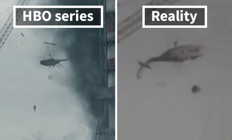 5d073e2ca7cfa side by side comparison hbo chernobyl with actual footage 12 5d024413f1a5e  700 - Fotos de Chernobyl da HBO em comparação a fotos reais