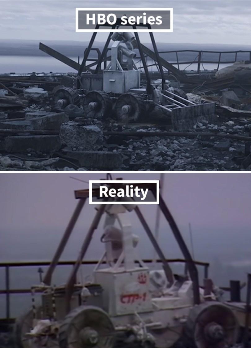 5d073e2cced16 side by side comparison hbo chernobyl with actual footage 11 5d0243f638367  700 - Fotos de Chernobyl da HBO em comparação a fotos reais
