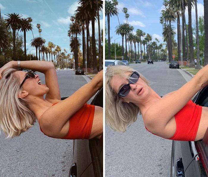 5d3efeba73b38 rianne meijer 9 5d3ae7de9de90  700 - Blogueira revela que fotos nem sempre são perfeitas