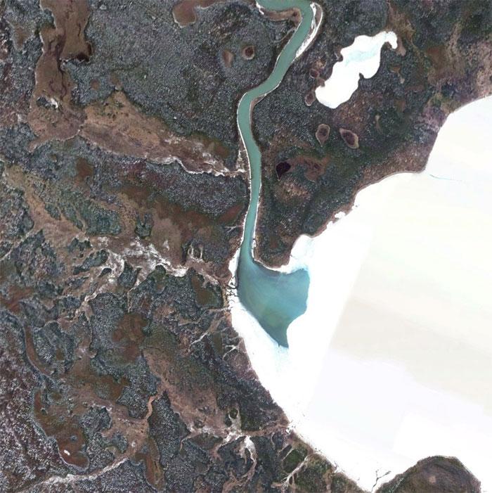 5d5507edd7833 google earth map finds 3 5d5264449c714  700 - 30 coisas mais interessantes que um geólogo encontrou no Google Earth
