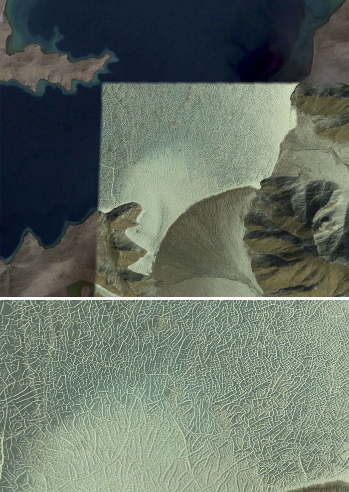 5d5507ee0bc4e 41 5d527d51d1935  700 - 30 coisas mais interessantes que um geólogo encontrou no Google Earth