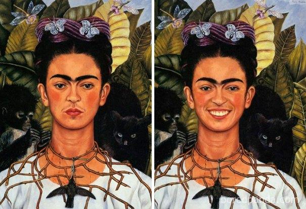 5d7602efaeda3 famous paintings portraits faceapp 16 5d7245a6e7cb0  700 - Com um sorriso é sempre melhor