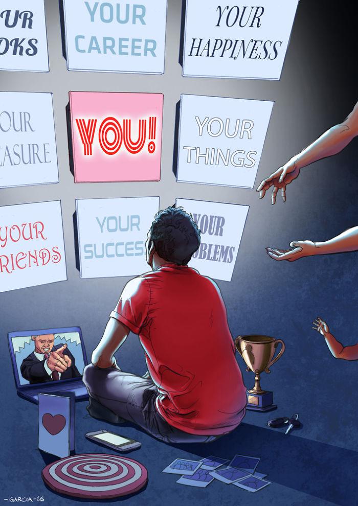 5d8dbd1d19bdb 50 Brutally Shocking Illustrations that tell whats Wrong with our Society 5d8a13662cea3  700 - 35 ilustrações instigantes que mostram o que há de errado com nossa sociedade