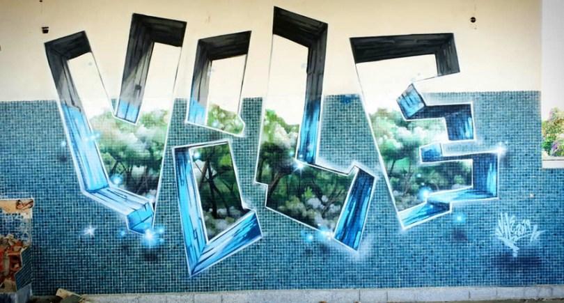 amazing transparent graffiti vile 22 - Português faz as paredes parecerem transparentes usando nada além de tinta Spray