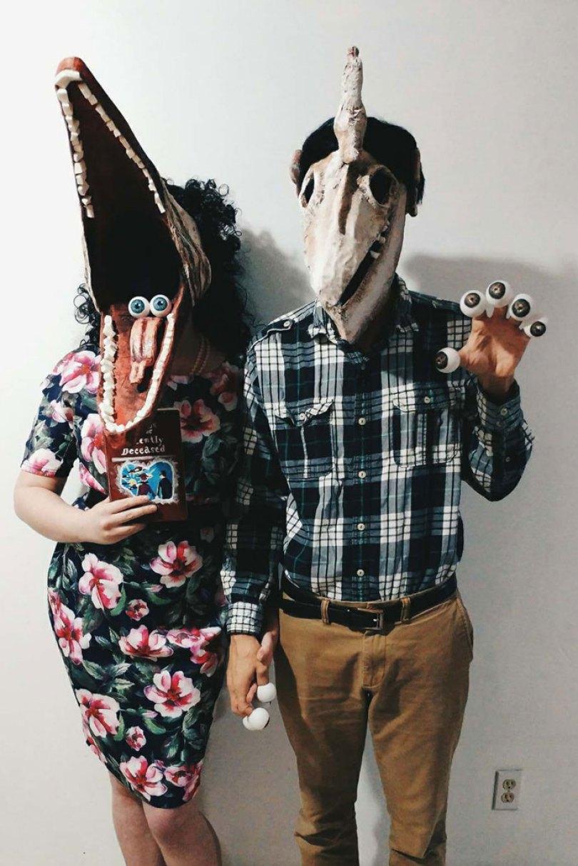 5dba9814e6925 Halloween Couple Costume Ideas 234 5daeab81eb548  700 - Casais que apavoraram em suas fantasias para o Halloween
