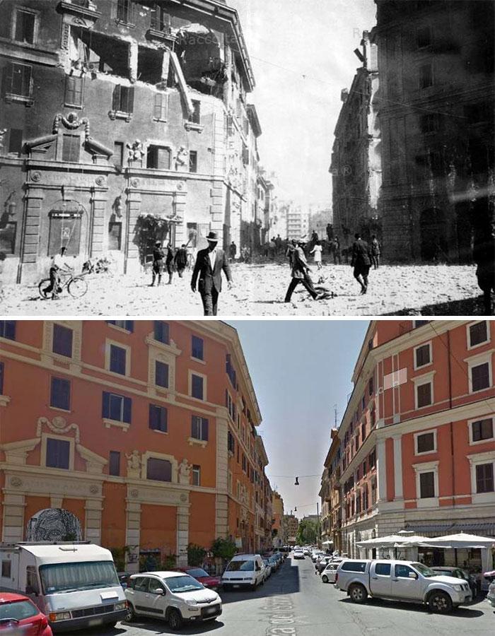 5dc5225e90465 Europe during World War 2 and Today our top 22 Now And Then images 5dbffd1a651ee  700 - 30 fotos fabulosas durante as Guerras e como são esses lugares hoje