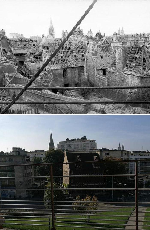 5dc5225fa47a3 Europe during World War 2 and Today our top 22 Now And Then images 5dbffd2ad8978  700 - 30 fotos fabulosas durante as Guerras e como são esses lugares hoje