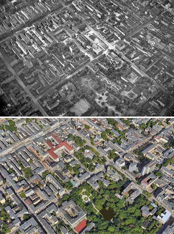 5dc5226113fa6 Europe during World War 2 and Today our top 22 Now And Then images 5dbffd0ba01e1  700 - 30 fotos fabulosas durante as Guerras e como são esses lugares hoje