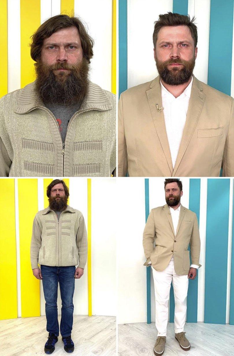 "5dc52265ca190 before after transformations stylist alexander rogov 114 5dc40ac064b37  880 - Resultado impressionante de pessoas ""repaginadas"" por estilista russo"