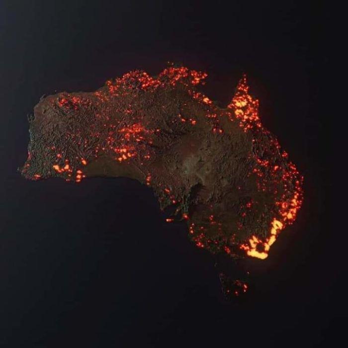 5e14430264c5c 5e12e6f15d744 ssK8IbU  700 - Internet compatilha 50 fotos que revelam as queimadas na Austrália
