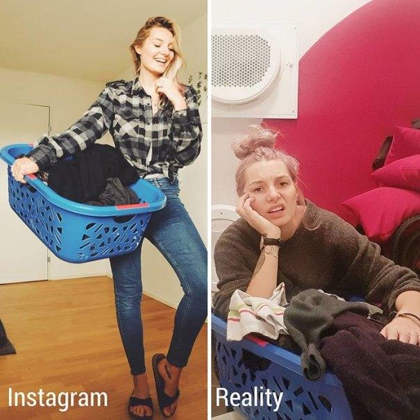 5e144318e6ea9 8 5e13141d37bf1  700 - Blogueira compara fotos do Instagram com a realidade