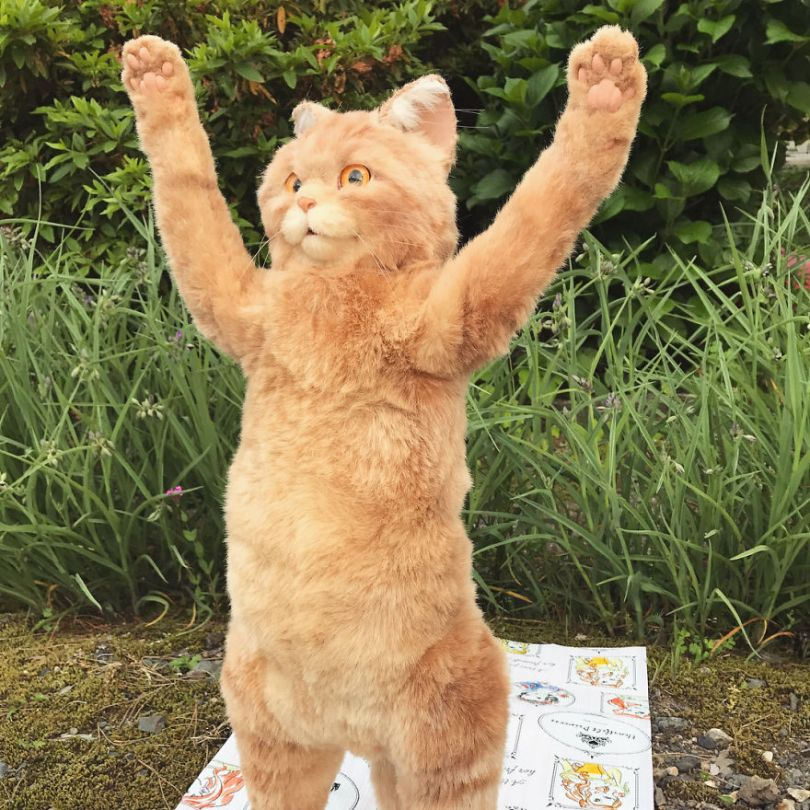 5e577ec0d4427 Japanese artist continues to create bags in the shape of cats and realism impresses 5e54d0013f6ab  880 - Artista japonês cria Bolsas de gatos que assustam de tanta veracidade