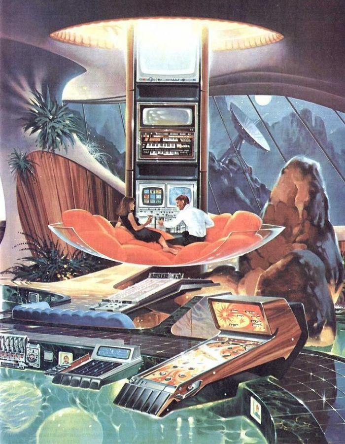 5e5e0b97ec907 This is how designers in the past thought we would be living in the future 5e58c9eb40a74  700 - Como as Revistas do passado imaginavam que estaríamos vivendo no futuro?