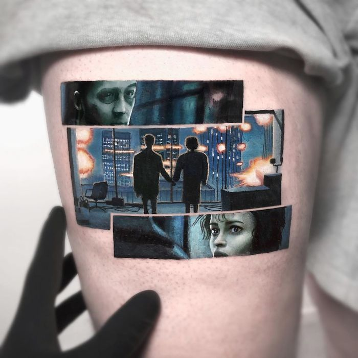 5e689afccc02b B5Sx81XFscy png  700 - Tatuagens minúsculas inspiradas na cultura Pop de tatuador Israelense