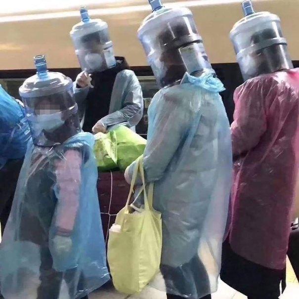 5e86e60f97f68 funny coronavirus masks protection 12 5e847e745b653  700 - 40 maneiras divertidas e criativas de proteger as pessoas do coronavírus