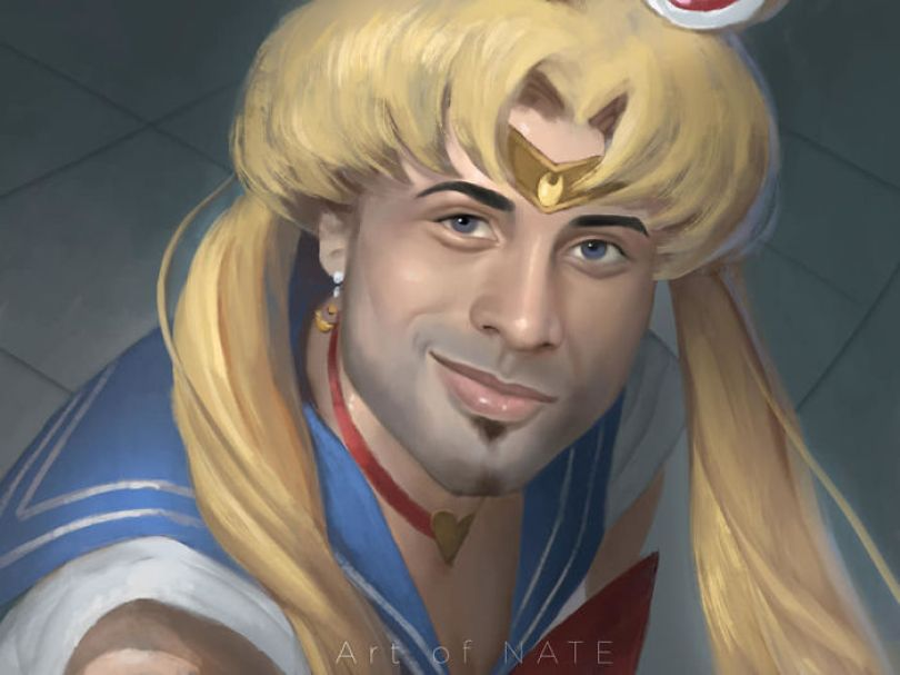 5ec62ac45ed92 Artists from around the world challenged themselves to draw the heroine Sailor Moon in their own style 5ec4d2da7faab  700 - Publicações de artistas no Twitter surpreende fãs de Sailor Moon
