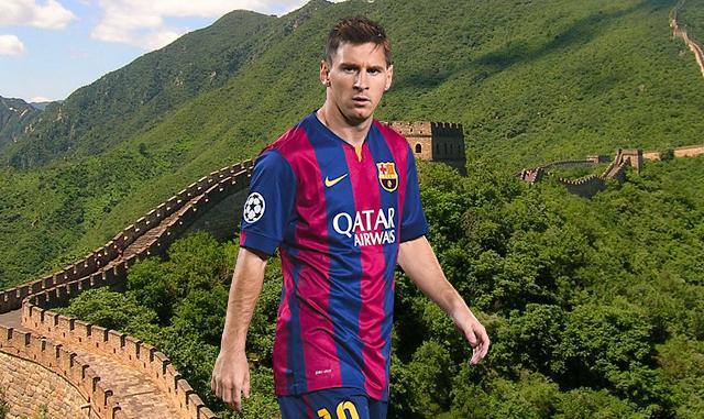 Le rêve chinois de Lionel Messi