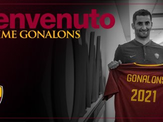 Maxime Gonalons - (c) Compte Twitter AS Roma