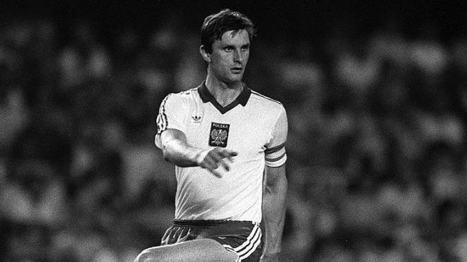 Władysław Żmuda avec la Pologne lors du Mondial 82