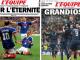 Deux unes de l'Equipe, où les médias français étaient pour des équipes françaises
