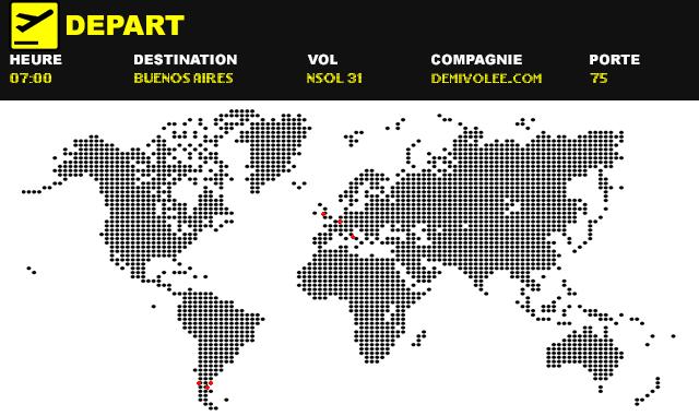 Villes de football, direction Buenos Aires