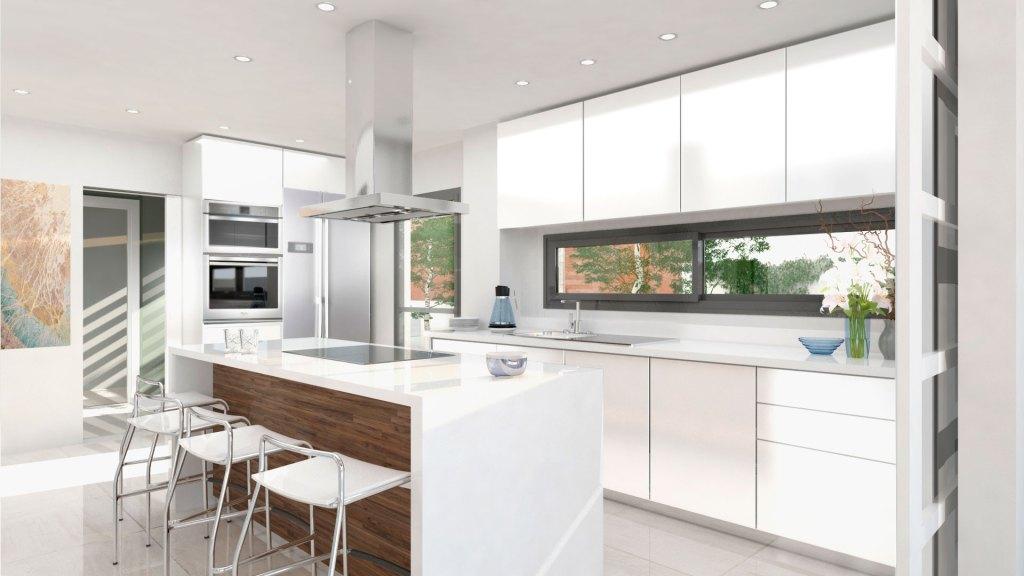 DEMO Arquitectura Infografía cocina La Pinada