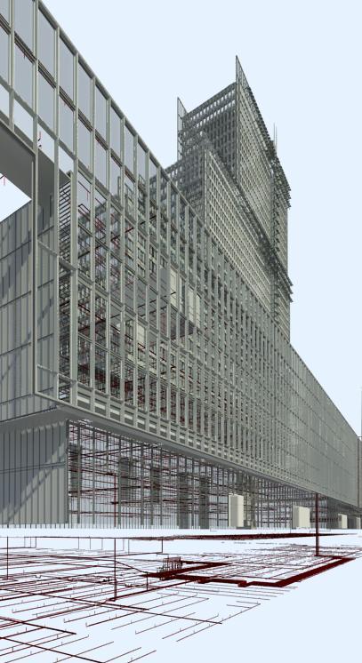 BIM del Palacio de Justicia de París