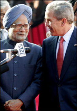 Singh-Bush alliance