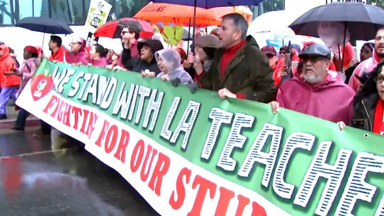H1 la teachers strike