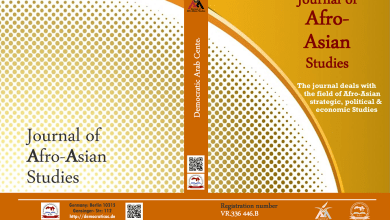 Photo of Journal of Afro-Asian Studies : Third Issue –  October 2019