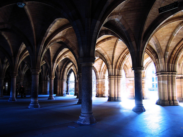 Glasgow University, Credit: Chor Ip, CC BY SA 2.0