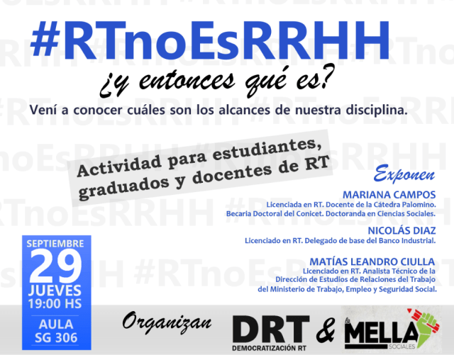 #RTnoesRH