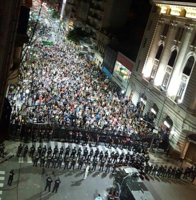 Recorte de haberes +  Represión + Cacerolazo = Reforma Previsional. Comunicado DRT