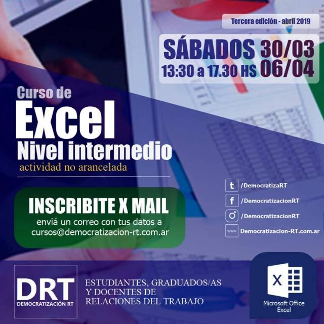 📊 Curso de Excel intermedio – 3ra edición