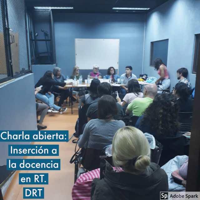 Charla Abierta sobre Inserción a la Docencia en RT